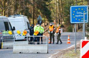 Tschechische Grenze in Lückendorf komplett geschlossen.