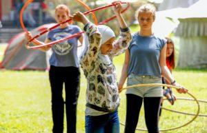 Kinder- und Jugendzirkus Applaudino Sommercamp.