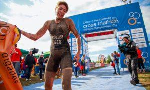 O SEE Challenge. Katrin Müler, ITU-Cross Triathlon Weltmeisterin.